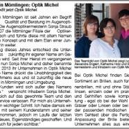 Ihr Optiker in Mömlingen: Optik Michel