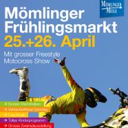 Frühlingsmarkt am 25. und 26.04.